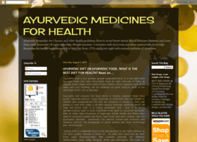 ayurvedicmedicinesforhealth.blogspot.com