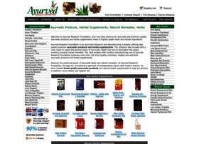 ayurvedresearchfoundation.com