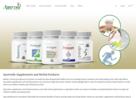 ayurvedresearchfoundation.in