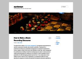 ayutasays.wordpress.com
