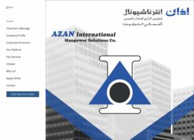 azaninternational.com