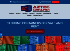 azteccontainer.com
