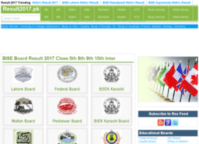 b.comaiou.result2015.pk
