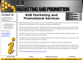 b2b-promotional-services.co.uk