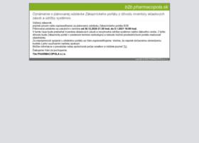 b2b.pharmacopola.sk