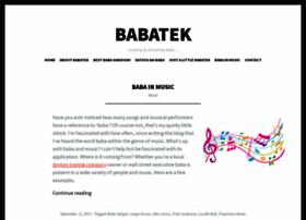 babatek.com
