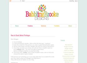 babblingbrooketutorials.blogspot.com