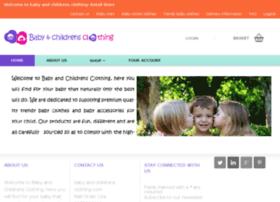 babyandchildrensclothing.com