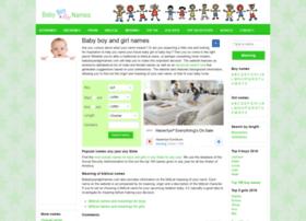 babyboyandgirlnames.com
