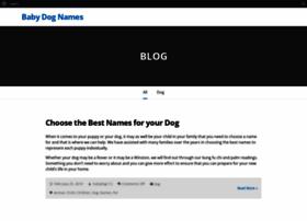 babydognames.com