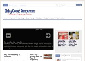 babygreatresources.com