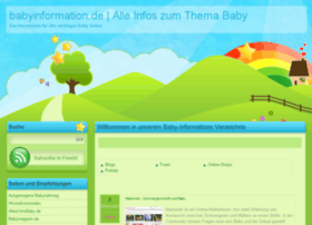 babyinformation.de