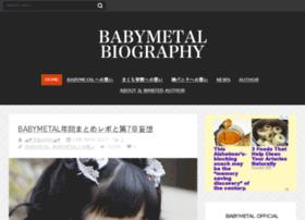 babymetal-bio.com