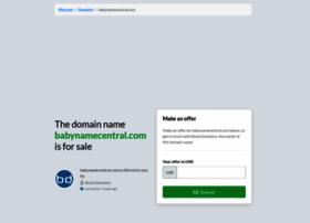 babynamecentral.com