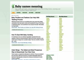 babynames99.blogspot.com