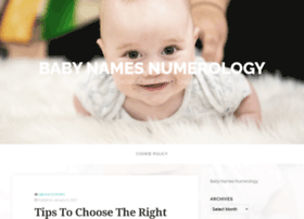 babynamesnumerology.com