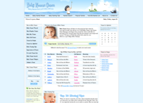babynamesocean.com