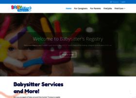 babysittersregistry.com