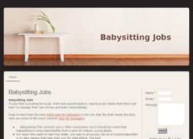 babysittingjobs.jimdo.com