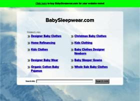 babysleepwear.com