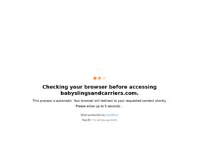 babyslingsandcarriers.com