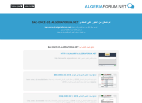 bac-once-dz.algeriaforum.net