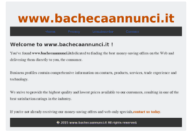 bachecaannunci.it