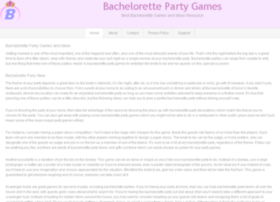 bachelorettepartygames.org
