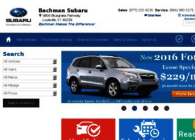 bachmansubaru.calls.net