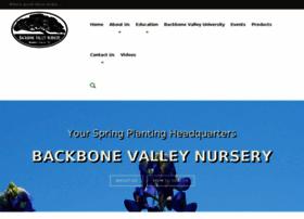 backbonevalleynursery.clickforward.com