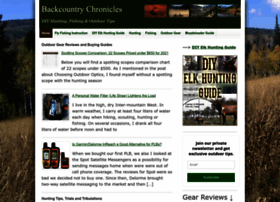 backcountrychronicles.com