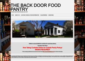 backdoorfoodpantry.org