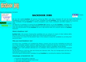 backdoorjob.in