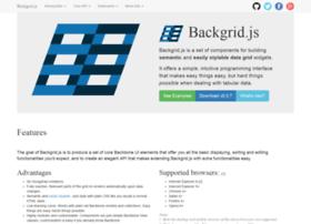 backgridjs.com