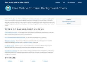 backgroundcheck.net