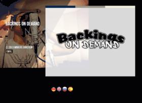 backingsondemand.com