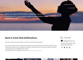 backinstock.net
