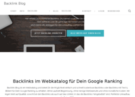 backlink-blog.de
