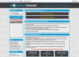 backlink-generator.nl