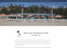 backonthebeachcafe.com
