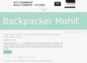 backpackermohit.bravesites.com