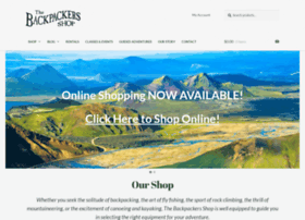 backpackersshop.com