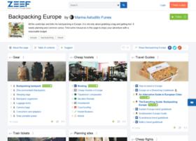 backpacking-europe.zeef.com