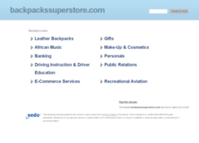 backpackssuperstore.com