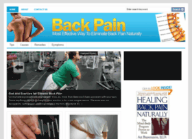 backpain.embarrassingillnessremedies.com