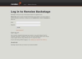 backstage.renoise.com