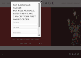 backstagelabel.com
