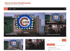 backtothepredictions.com