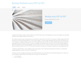 backup-2007-ost-to-pst.weebly.com