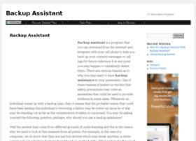 backupassistant.net